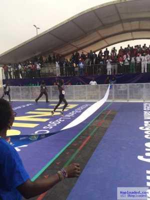See Photos Of The Kenyan Man Who Won The Lagos Marathon 2016